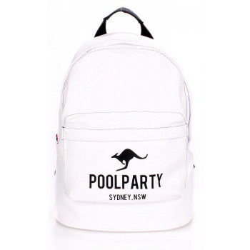 Рюкзак Poolparty backpack-kangaroo-white