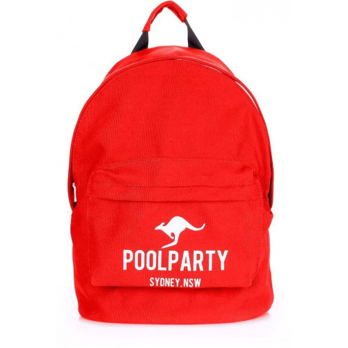 Рюкзак Poolparty backpack-kangaroo-red