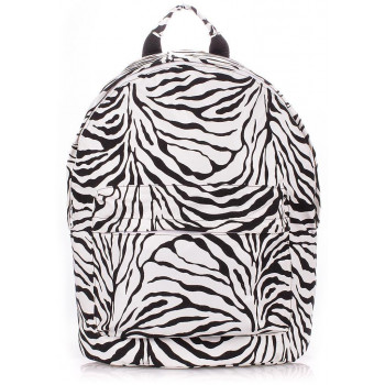 Рюкзак Poolparty backpack-pu-zebra