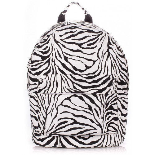 Рюкзак Poolparty backpack-pu-zebra