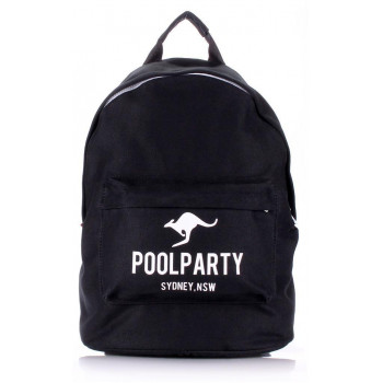 Рюкзак Poolparty backpack-kangaroo-black