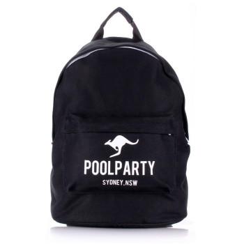Рюкзак Poolparty backpack-kangaroo-black