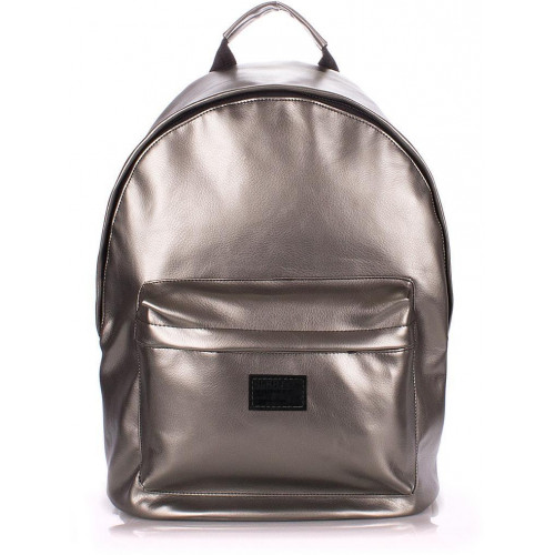 Рюкзак Poolparty backpack-pu-silver