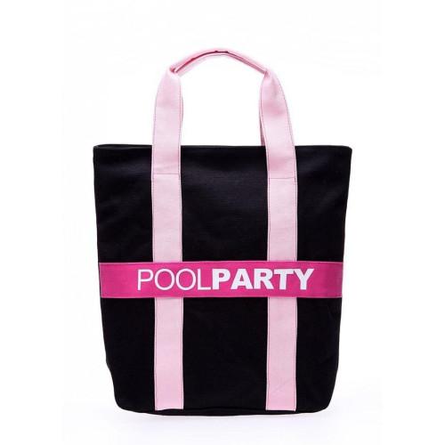 Сумка Poolparty pool82-black-pink