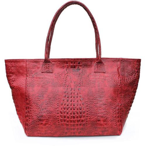 Сумка Poolparty desire-croco-red