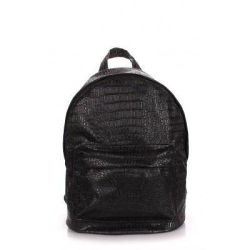 Сумка Poolparty backpack-croco-black