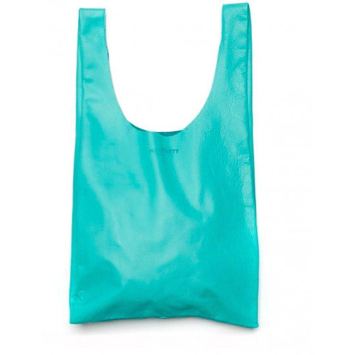 Сумка Poolparty leather-tote-blue
