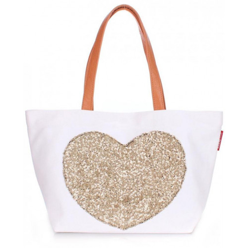 Сумка Poolparty pool-lovetote-white