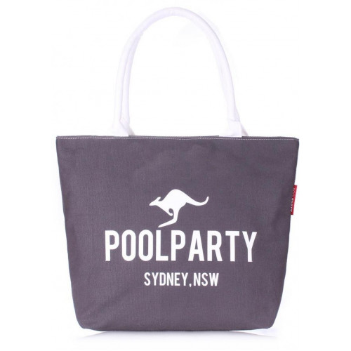 Сумка Poolparty pool-9-grey