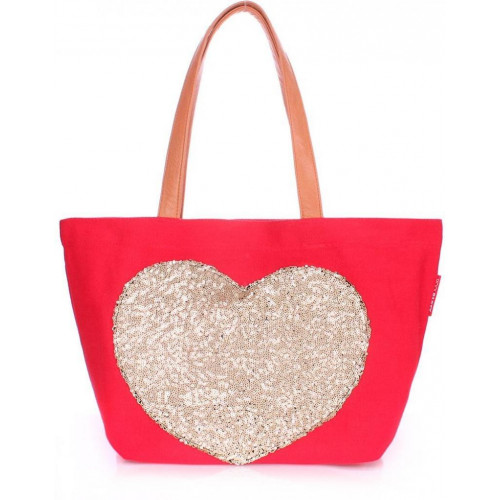 Сумка Poolparty pool-lovetote-red
