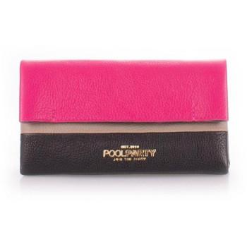 Сумка Poolparty 2nite-pink-black-beige