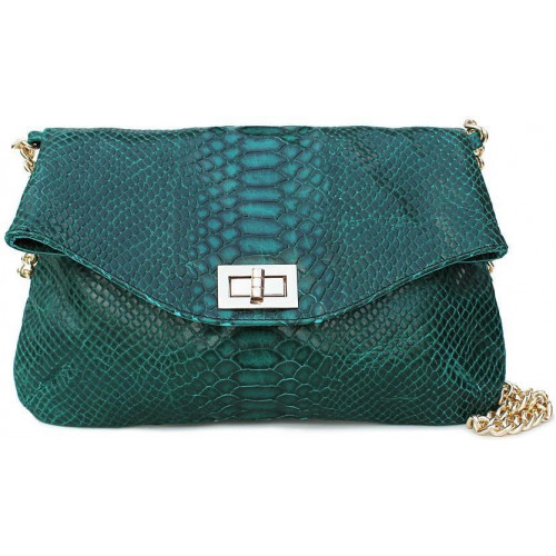 Сумка Poolparty green-snake-clutch