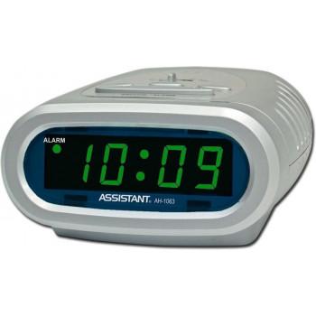Настольные часы Assistant AH-1063 green
