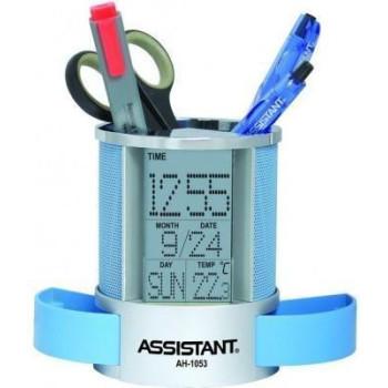 Настольные часы Assistant AH-1053 blue
