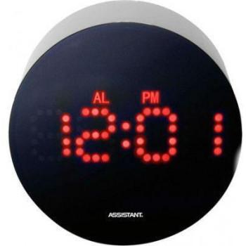 Настольные часы Assistant AH-1025 red