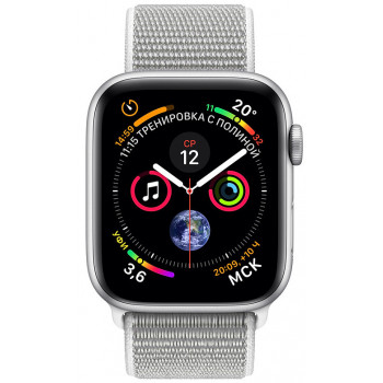 Смарт-часы Apple Watch Series 4 40mm Silver Aluminium Case with Seas...