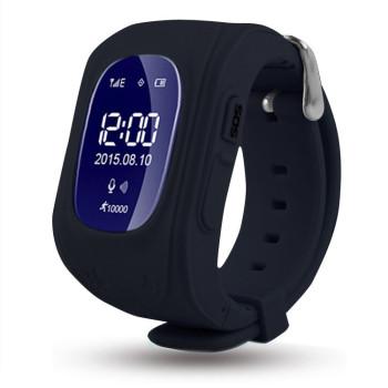 Смарт-часы Детские часы-телефон с GPS WONLEX Q50 Black