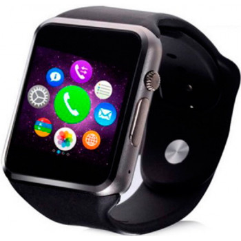 Смарт-часы Smart Uwatch A1 Turbo Black