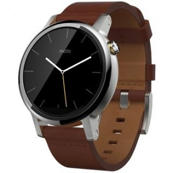 Смарт-часы Moto 360 2nd Gen 46mm StainSteel Cognac