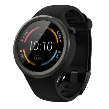 Смарт-часы Motorola Moto 360 Sport Black (00865NARTL)