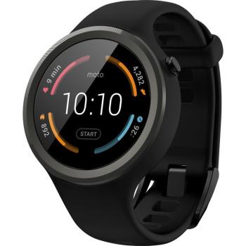 Смарт-часы Motorola Moto 360 Sport Black