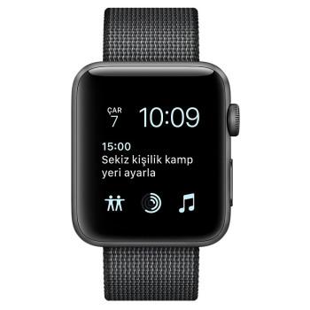 Смарт-часы Apple Watch Series 2 38 SpaceGrey Alum.Bl.Wov.Nyl.