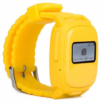Смарт-часы детские с GPS Nomi Watch W1 Желтый (У1)