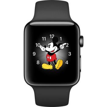 Смарт-часы Apple Watch Series 2, 38mm Space Black Stainless Steel Ca...
