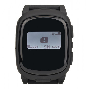 Смарт-часы детские с GPS Nomi Watch W1 Black