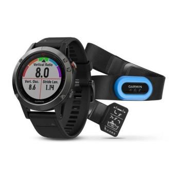 Смарт-часы Garmin fenix 5 Perf&Slate grey (010-01688-30)