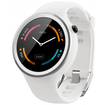 Смарт-часы Motorola Moto 360 Sport White (00866NARTL)
