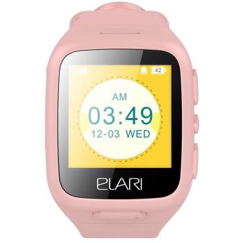 Смарт-часы детские Elari KidPhone Pink LBS (KP-1PK)