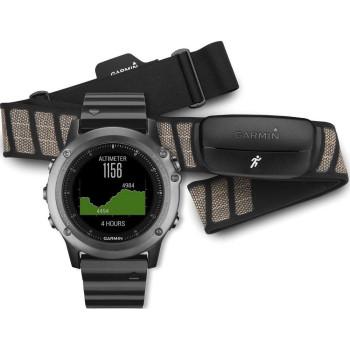 Смарт-часы Garmin Fenix 3 Sapphire Performer Bundle (010-01338-26)