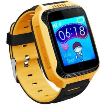 Смарт-часы SLMM Q528 GPS Yellow