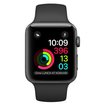 Смарт-часы Apple Watch Series 1, 42mm Space Grey Aluminium Case Blac...