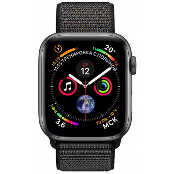 Смарт-часы Apple Watch Series 4 40mm Space Grey Aluminium Case with ...