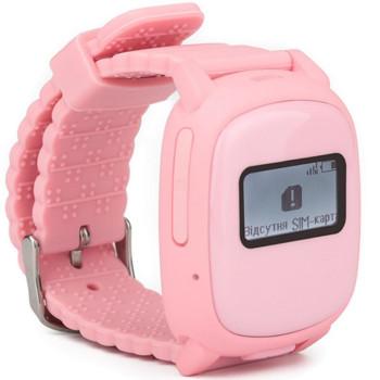 Смарт-часы детские с GPS Nomi Watch W1 Pink