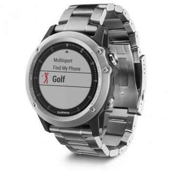 Смарт-часы Garmin Fenix 3 HR Silver with Titanium Band (010-01338-79...