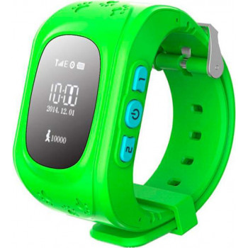 Смарт-часы Smart Baby Q50 GPS Smart Tracking Watch Green