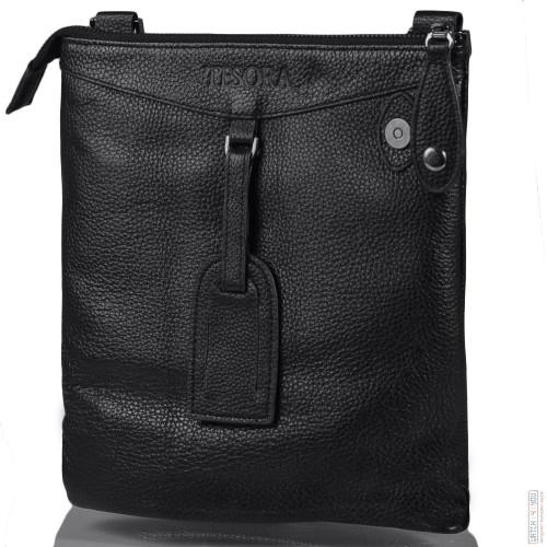 Барсетка Tesora W151-1-black