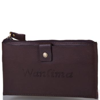 Барсетка Wanlima W91011560013-coffee