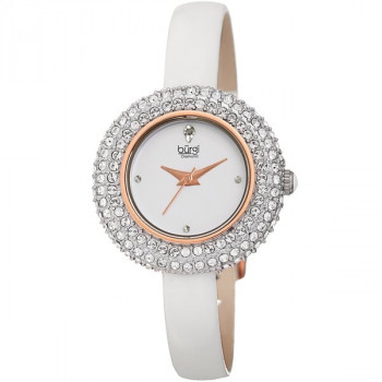 Burgi Diamond and Swarovski Crystal MR123.08