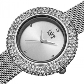 Burgi Diamond and Swarovski Crystal MR177.05