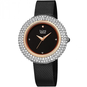 Burgi Diamond and Swarovski Crystal MR177.01