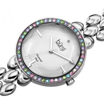 Burgi Diamond and Swarovski Crystal MR179.02
