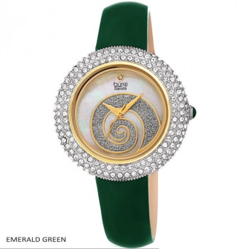 Burgi Diamond and Swarovski Crystal MR131.01