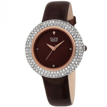 Burgi Diamond and Swarovski Crystal MR125.01