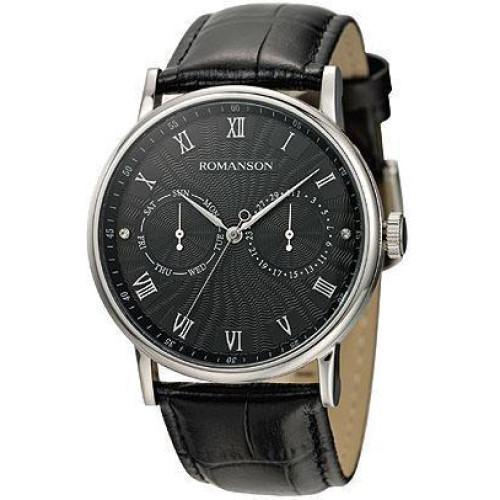 Часы Romanson TL1275BMWH BK