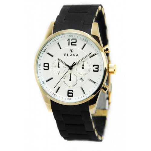 Часы Slava SL10190GW