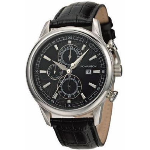 Часы Romanson TL1245BMWH BK